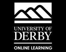 University of Derby Online Learning Logo