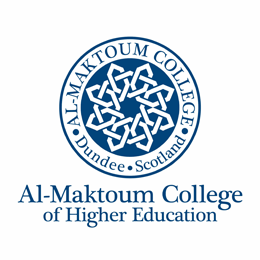 Al-Maktoum College of Higher Education Logo
