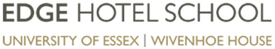 Edge Hotel School Logo