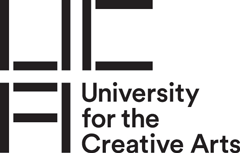 University for the Creative Arts logo